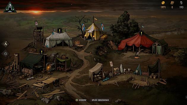 Wojna Krwi: Wiedźmińskie Opowieści - obóz