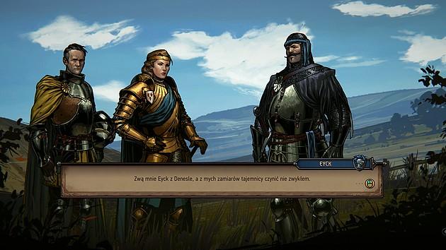 Wojna Krwi: Wiedźmińskie Opowieści - interakcja z napotkanymi postaciami