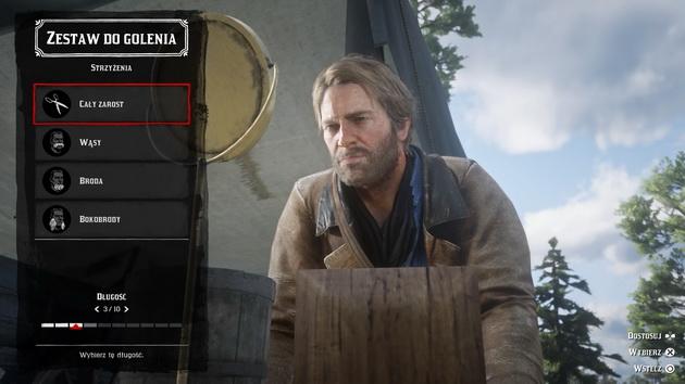 Red Dead Redemption 2 - golenie brody