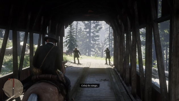 Red Dead Redemption 2 - zasadzka na moście