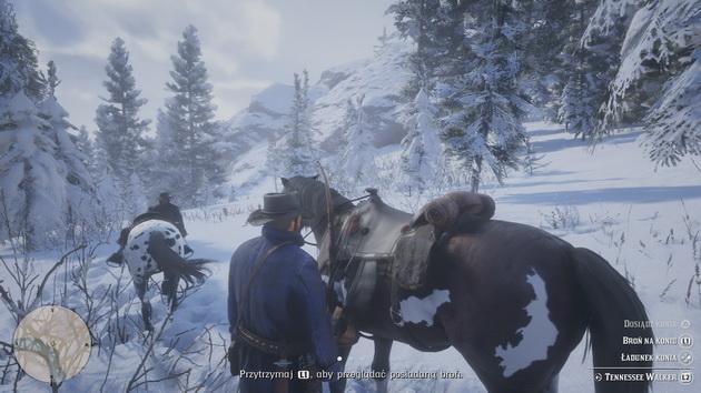 Red Dead Redemption 2 - na polowanie w śniegu