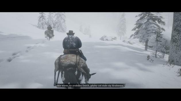 Red Dead Redemption 2 - pogaduchy podczas jazdy