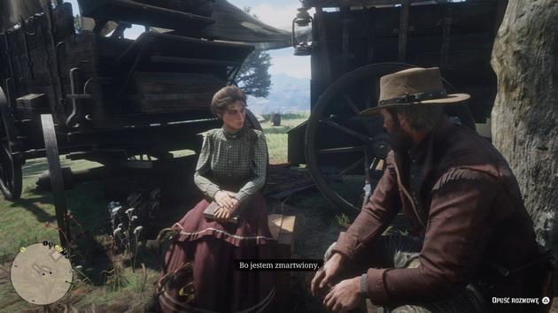 Red Dead Redemption 2 - rozmowa w obozie