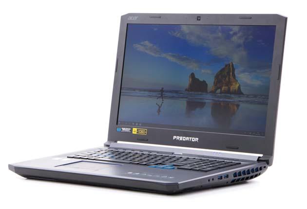 Acer Helios 500 kąty widzenia