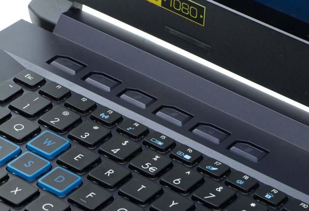 Acer Helios 500 klawisze funkcyjne