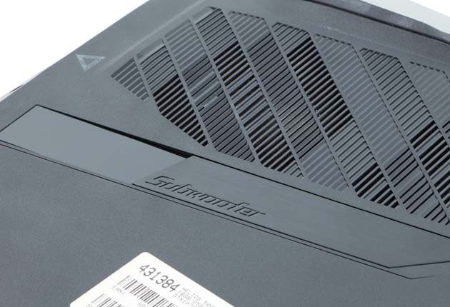 Acer Helios 500 subwoofer
