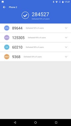 Razer Phone 2 - Antutu benchmark