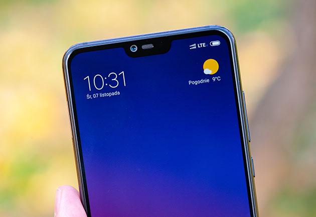 Xiaomi Mi 8 Lite - przód