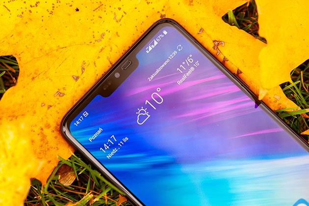LG G7 fit - wyświetlacz