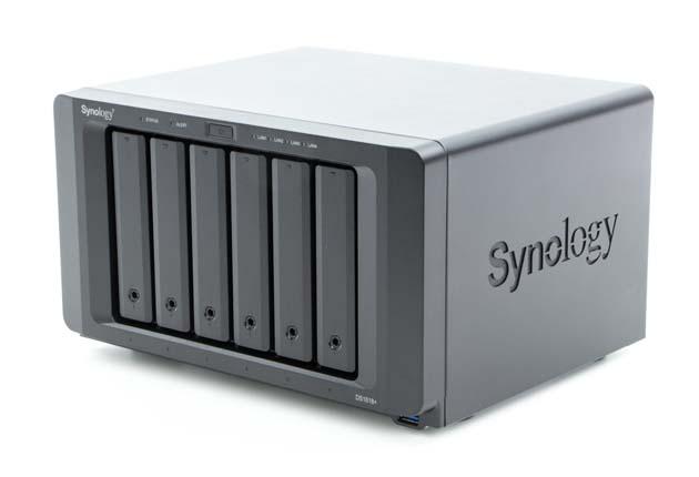 Synology DS1618+ widok przód