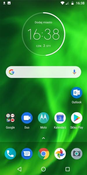 Motorola Moto G6 system
