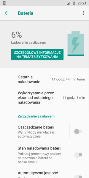 Motorola Moto G6 bateria