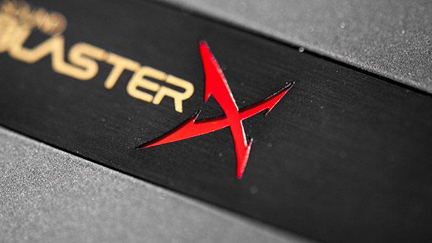 Sound BlasterX G6 - podświetlane logo