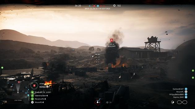 Battlefield V - w wizjerze czołgu