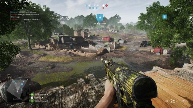Battlefield V - fortyfikacje