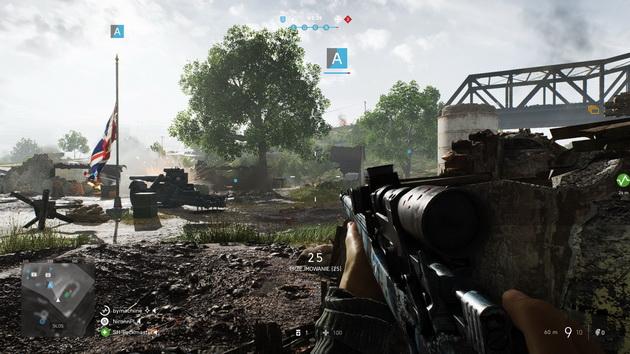Battlefield V - przejmowanie punktu