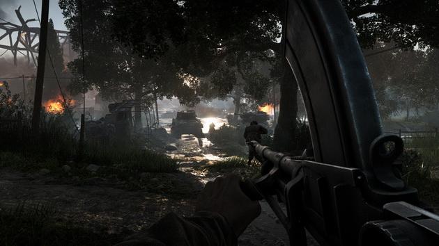 Battlefield V - ujęcie ze wstępu gry