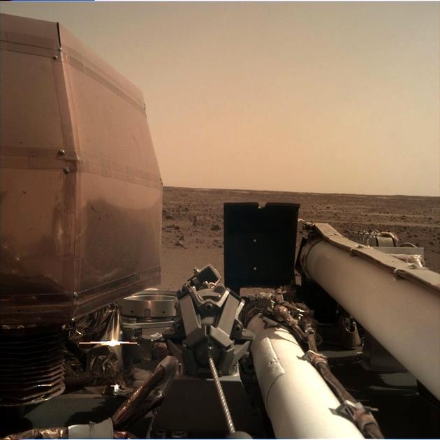 InSight zdjęcie Mars