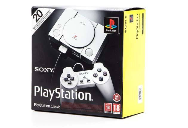 PlayStation Classic - pudełko