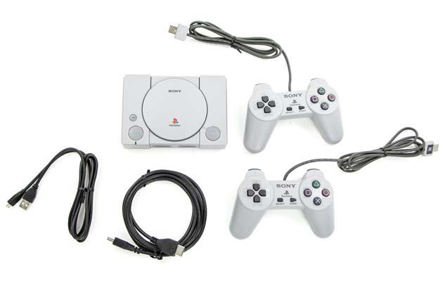 PlayStation Classic - zawartość zestawu