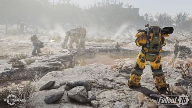 Fallout 76 - walka