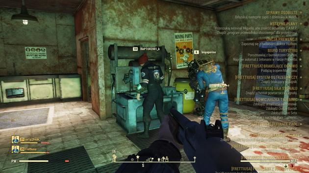 Fallout 76 - wspólne tworzenie