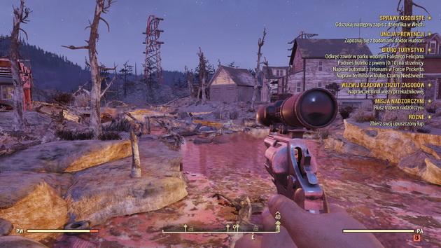 Fallout 76 - postnuklearne cmentarzysko