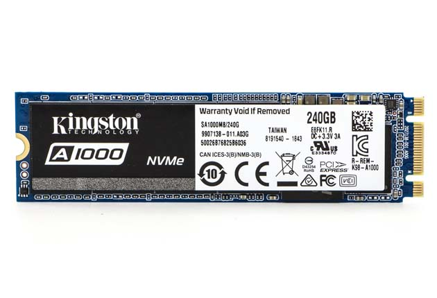 Kingston SSD A1000