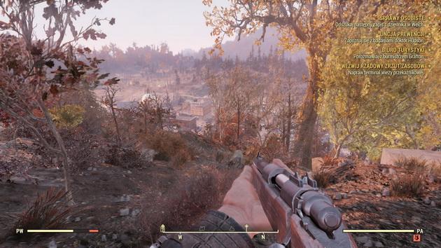 Fallout 76 - przeczesywanie okolicy
