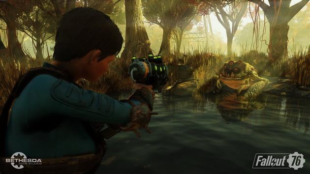 Fallout 76 - ropucha-mutant