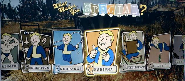 Fallout 76 - system SPECJAŁ