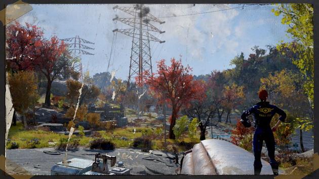 Fallout 76 - stare zdjęcie warsztatu