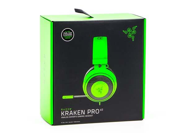 Razer Kraken Pro V2 - pudełko