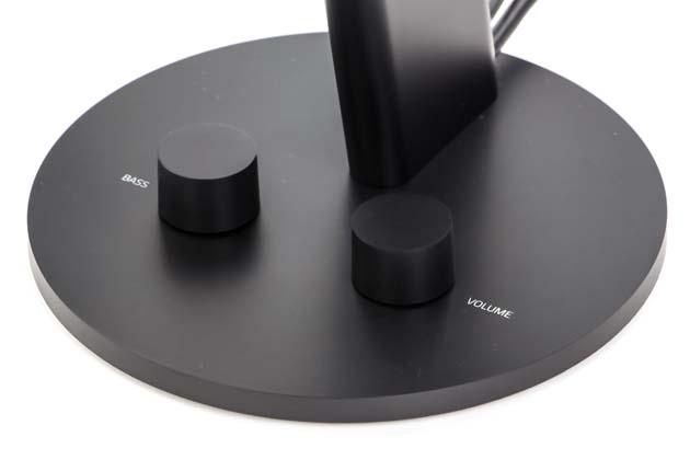 Razer Nommo Chroma - dwa pokrętła - do regulacji głośności oraz intensywności basu