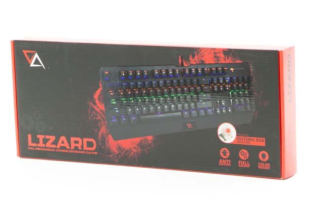 CA Lizard pudełko