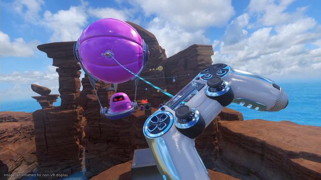 Astro Bot: Rescue Mission - wykorzystanie narzędzi z DualShock'a