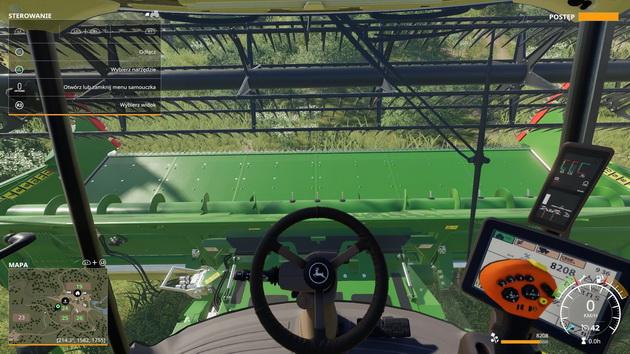 Farming Simulator 19 - jazda ciągnikiem