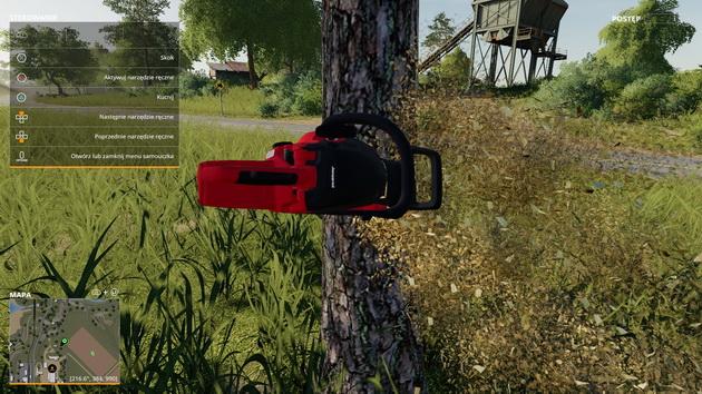Farming Simulator 19 - ścinanie drzew