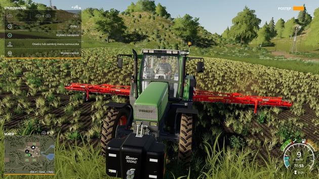 Farming Simulator 19 - opryskiwanie pola
