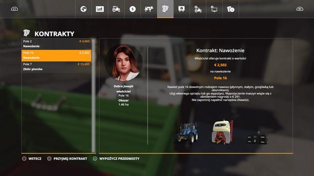 Farming Simulator 19 - kontrakty