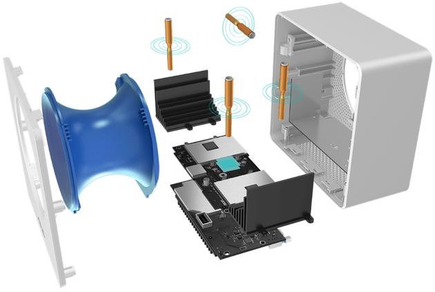 ASUS - system chłodzenia i anteny