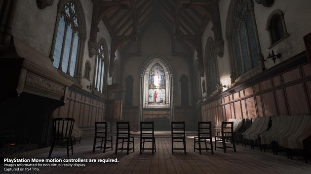 Deracine - szkolna kaplica