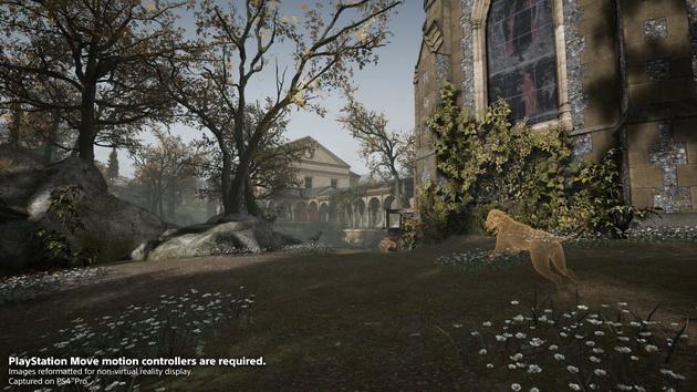 Deracine - pies w ogrodzie