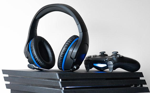 Słychawki bezprzewodowe do PS4