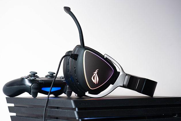 ASUS ROG Delta - słuchawki do PS4