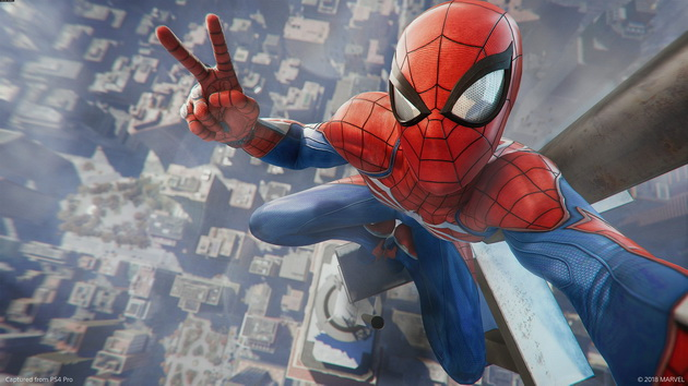 Jaką konsolę wybrać? - Spider-Man na PS4 Pro