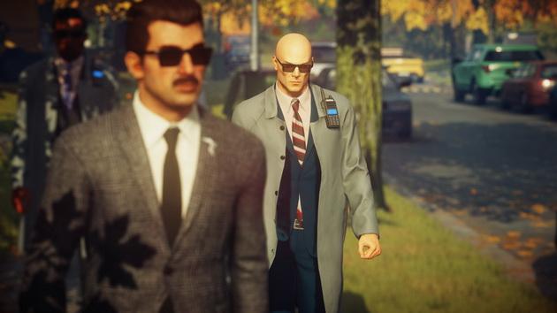 Hitman 2  - przebranie agenta