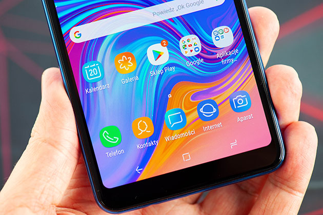 Galaxy A7 2018 - smartfon z Androidem
