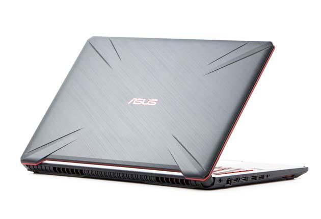 Asus TUF Gaming FX705GD-EW070 profil tył