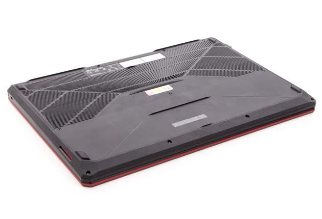 Asus TUF Gaming FX705GD-EW070 spód